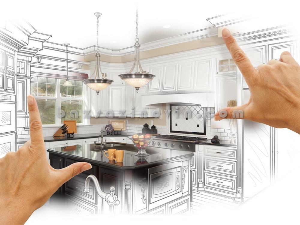 بازسازی دکوراسیون آشپزخانه