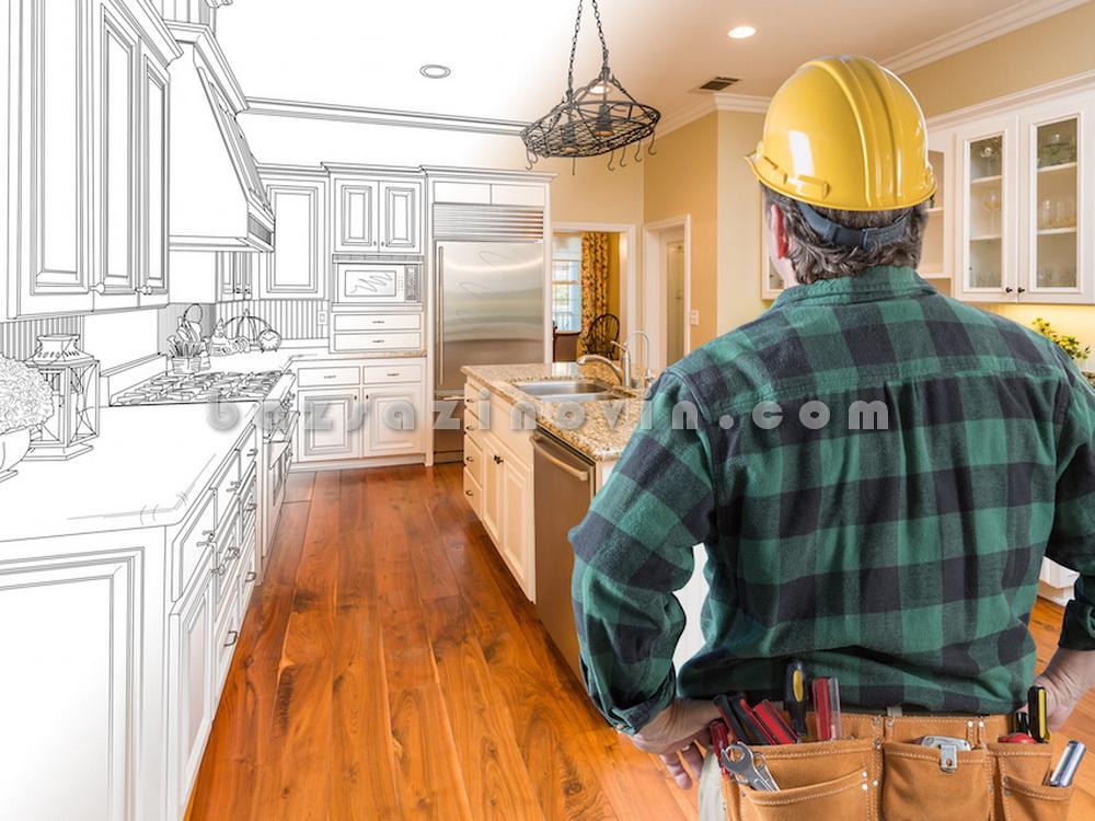 محاسبه و اجرای تعمیرات ساختمان
